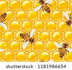 vector pattern with working... | Shutterstock .eps vector #1181986654