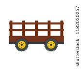 farm tow icon. flat... | Shutterstock .eps vector #1182020257