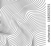 wave lines pattern abstract... | Shutterstock .eps vector #1182023251