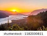 Sunrise At Columbia River Gorg...