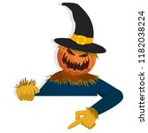 Cartoon Scarecrow Character Fo...