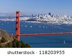 San Francisco Panorama W Golde...