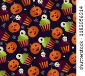 happy halloween celebration day | Shutterstock .eps vector #1182056314