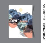 business brochure. flyer design.... | Shutterstock .eps vector #1182084427