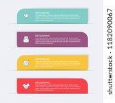 vector info graphics for your... | Shutterstock .eps vector #1182090067