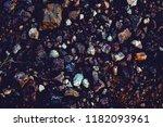 dark soil and natural stones... | Shutterstock . vector #1182093961