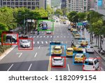 machine learning and ai to... | Shutterstock . vector #1182099154