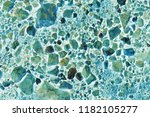 abstract turquoise blue colored ... | Shutterstock . vector #1182105277