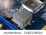 motherboard  cpu panel and... | Shutterstock . vector #1182118414