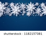 vector merry christmas and... | Shutterstock .eps vector #1182157381
