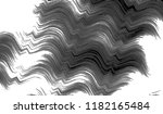 black and white wavy striped...   Shutterstock . vector #1182165484