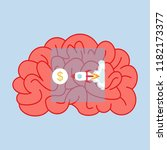 business idea  concept of...   Shutterstock . vector #1182173377