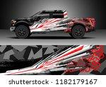 truck decal wrap design vector. ... | Shutterstock .eps vector #1182179167