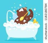 cartoon vector illustration of...   Shutterstock .eps vector #1182180784