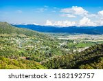 tha ton city aerial view ...   Shutterstock . vector #1182192757