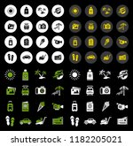 hotel icons   traveling ... | Shutterstock .eps vector #1182205021