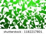 light green vector low poly... | Shutterstock .eps vector #1182217801