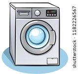 vector illustration of washing...   Shutterstock .eps vector #1182226567