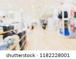 best abstract blur shopping... | Shutterstock . vector #1182228001