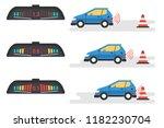 vector flat infographic of car... | Shutterstock .eps vector #1182230704