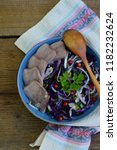 stewed purple cabbage with...