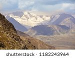 the glaciers of the aletschhorn ... | Shutterstock . vector #1182243964