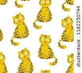 seamless vector pattern with... | Shutterstock .eps vector #1182250744