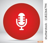 microphone icon vector 10 eps...