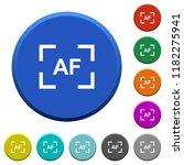 camera autofocus mode round... | Shutterstock .eps vector #1182275941