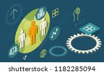 free market society   abstract... | Shutterstock .eps vector #1182285094