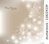 elegant christmas background... | Shutterstock .eps vector #118229239