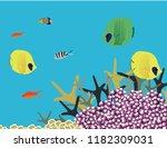 great reef australia | Shutterstock .eps vector #1182309031