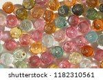 tourmaline. natural stone multi ... | Shutterstock . vector #1182310561