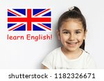 learn english language. ... | Shutterstock . vector #1182326671
