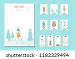 christmas holiday to do lists ... | Shutterstock . vector #1182329494