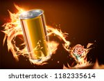 Blank Aluminum Can With Viciou...