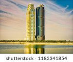 cityscape photography  two... | Shutterstock . vector #1182341854
