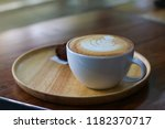 a cup of coffee   Shutterstock . vector #1182370717