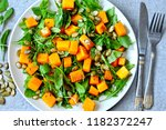 Pumpkin Salad With Arugula....