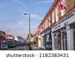 london  september  2018   shops ... | Shutterstock . vector #1182383431
