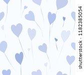 abstract balloons seamless... | Shutterstock .eps vector #1182385054