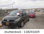 new york   november 1  crashed... | Shutterstock . vector #118241605