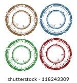 blank vector grunge rubber stamp | Shutterstock .eps vector #118243309