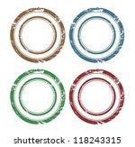 blank vector grunge rubber stamp | Shutterstock .eps vector #118243315