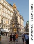 vienna  austria   august 26 ... | Shutterstock . vector #1182434851