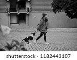 prague  czech republic ... | Shutterstock . vector #1182443107