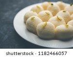 indian rasgulla or rosogulla... | Shutterstock . vector #1182466057