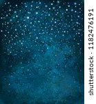 vector night starry sky... | Shutterstock .eps vector #1182476191