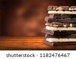 Chocolate Tower Dark And White...