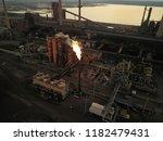 aerial drone flight over a...   Shutterstock . vector #1182479431